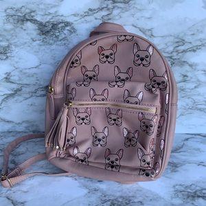 Pug mini pink backpack